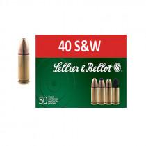 S&B 40 S&W Vollmantel 11,7g