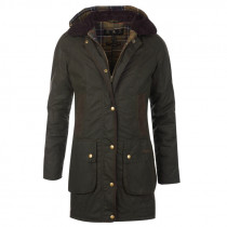 BARBOUR Bower Wax Jacke olive