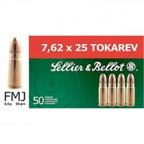 S&B 7,6x25 Tokarev Vollmantel 5,5g