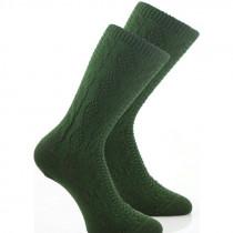LUISE STEINER Socke BW-Elasthan tanne