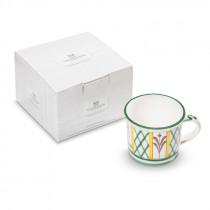 GMUNDNER KERAMIK Jagd, Kaffeehäferl glatt im Geschenkkarton (0,24 L)