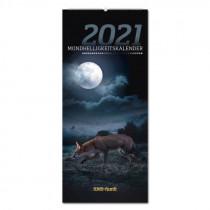 PAREY Wild und Hund Mondhelligkeitskalender 2021