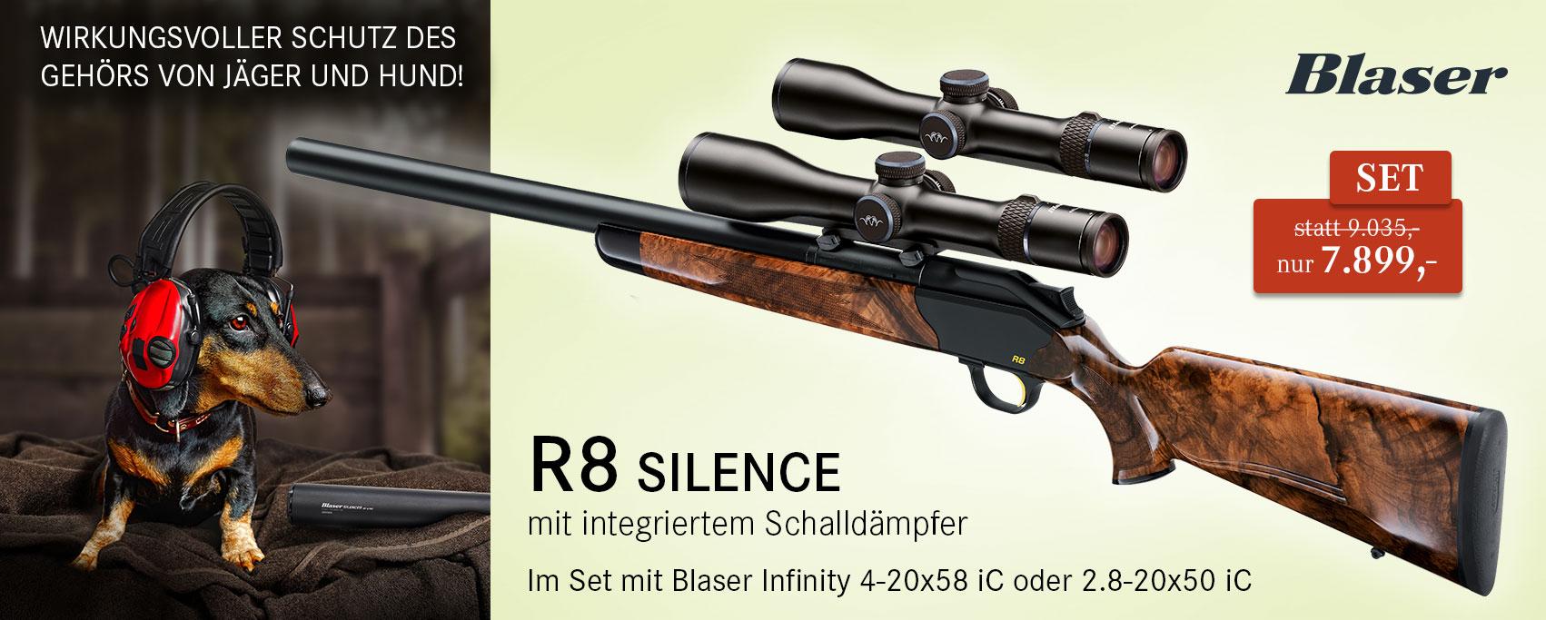 Blaser Silence R8 Set