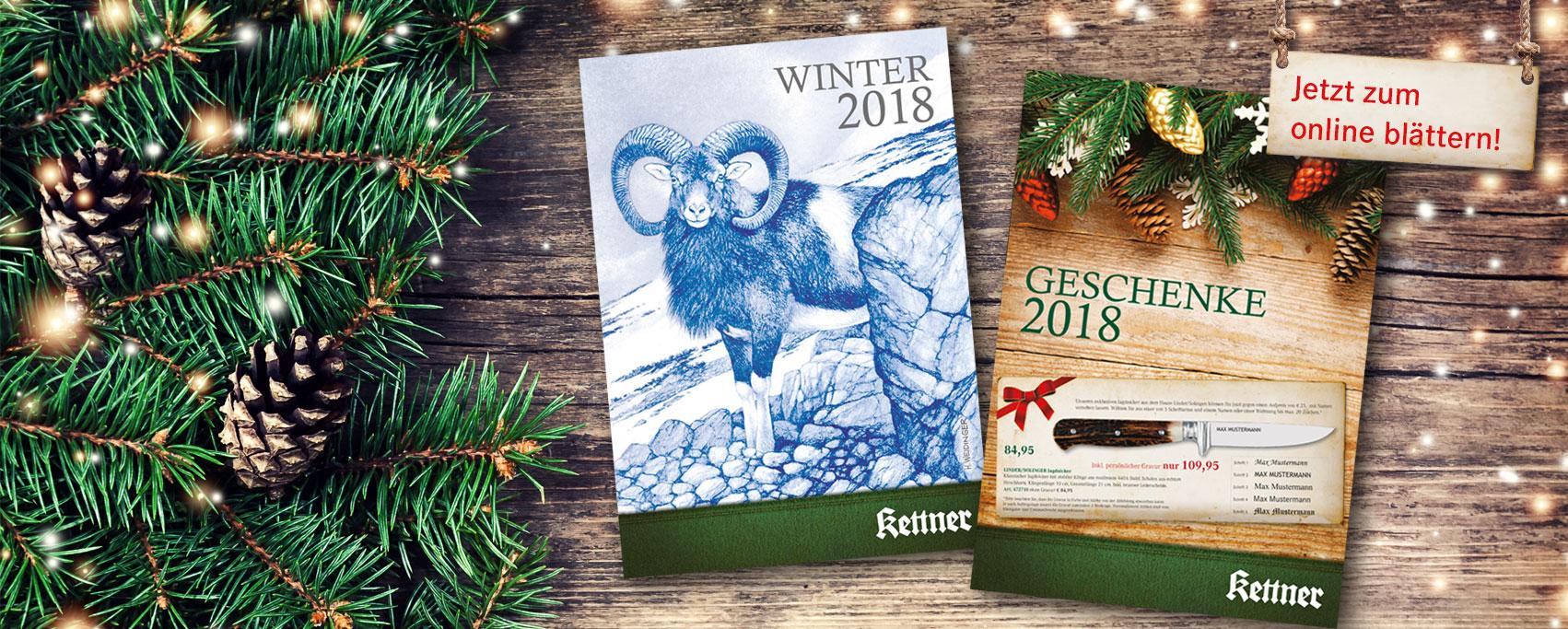 Winter- & Geschenkkatalog 2018