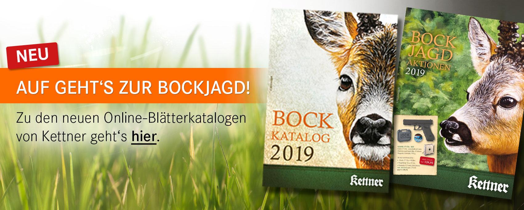 Bock Katalog & Bockjagd Aktionen 2019