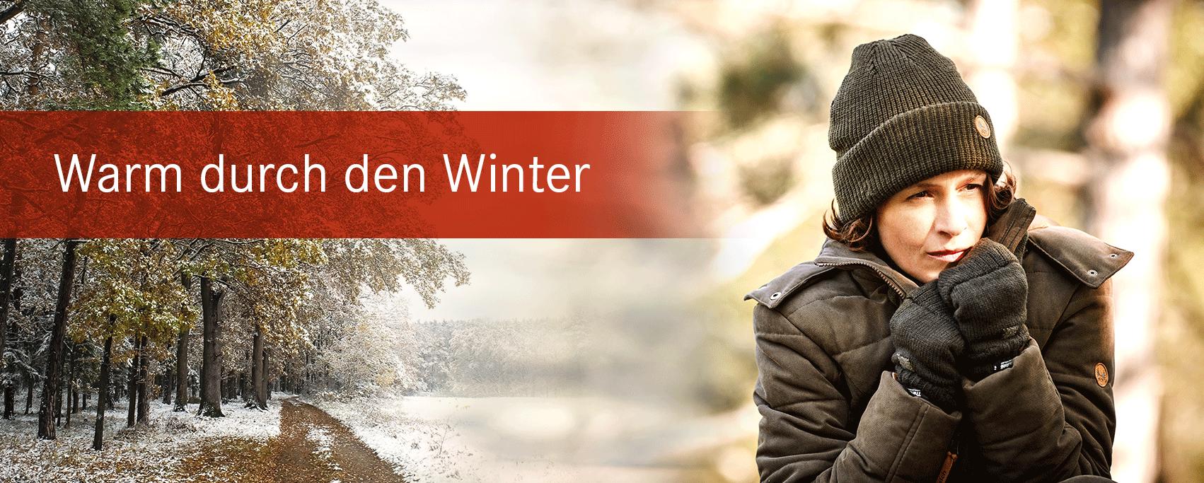 Warm durch den Winter